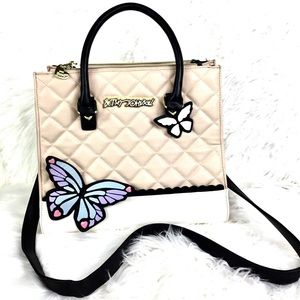 Betsey Johnson Butterfly crossbody bag large